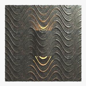 3d model of wall tiles