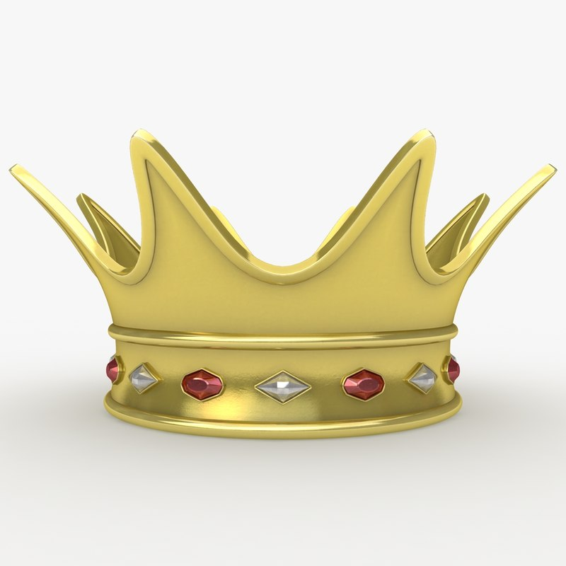realistic crown 2 3d max
