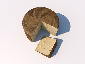 manchego queso 3d model