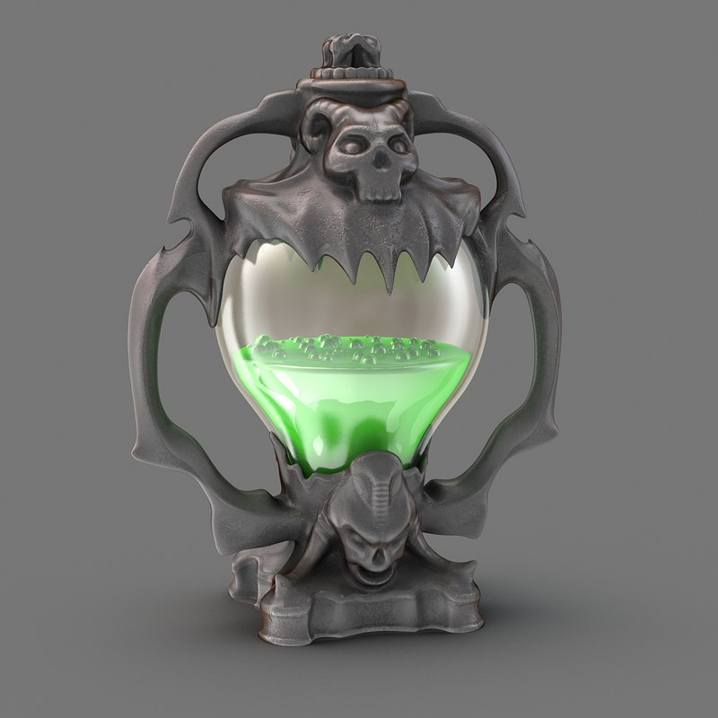 potion magic model