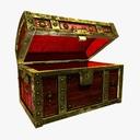 wooden chest 3D models