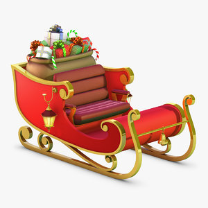 3d model use sleigh