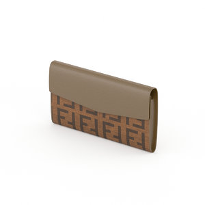fendi wallet 3d max
