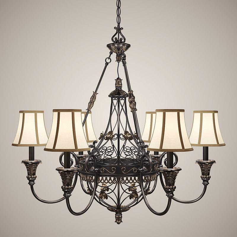3d chandelier lights