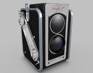 3ds max kodak vintage camera