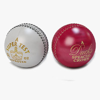cricket ball stress 3d model