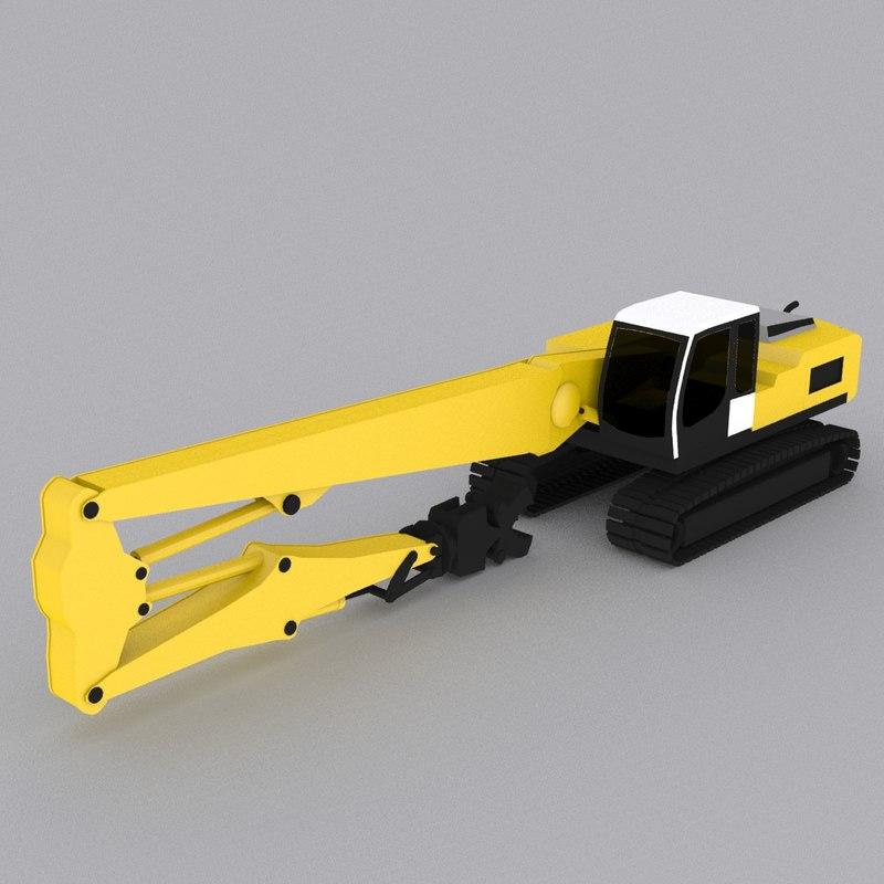 obj crawler excavator r934c