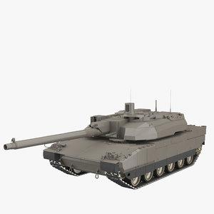 amx-56 leclerc tank 3ds