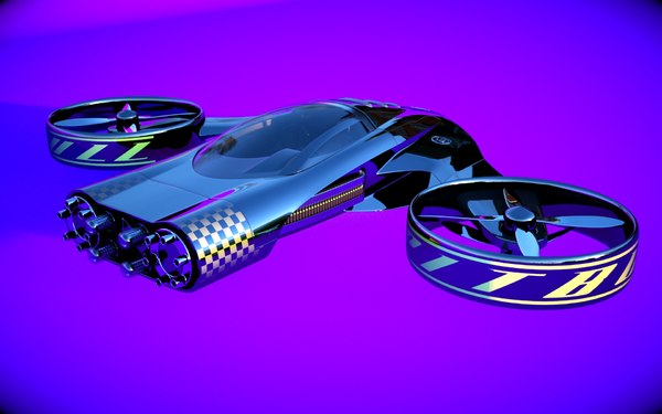 car designed 3d model