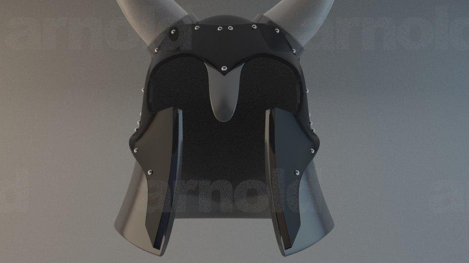 3d fbx fantasy helmet