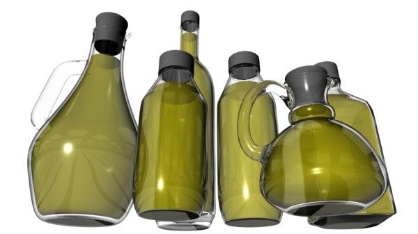 oil liquid 3d obj