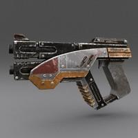 Scifi Gun 02