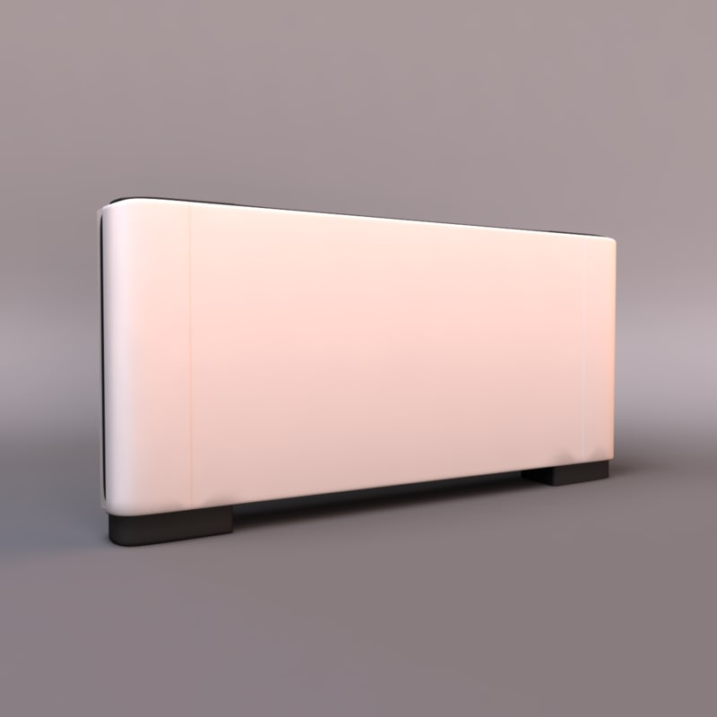 3d model floor air conditioner