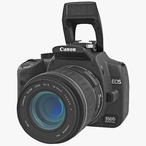 digital slr camera canon eos c4d