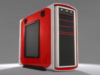computer case 3d 3ds