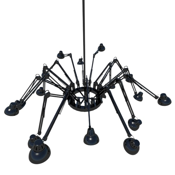 max desk lamp chandelier