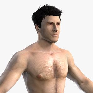 3d model character mmorpg body