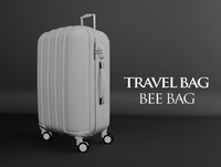 3d travel bag bee model