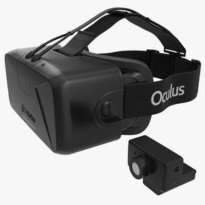 3d oculus rift dev kit