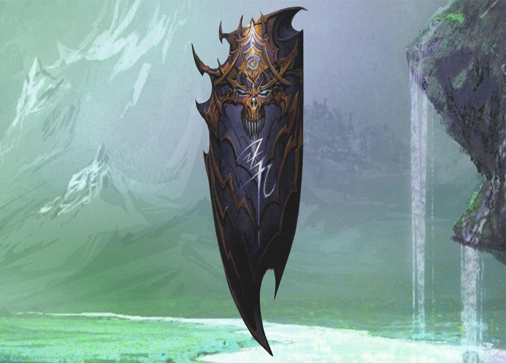 dragon shield blue 3d model