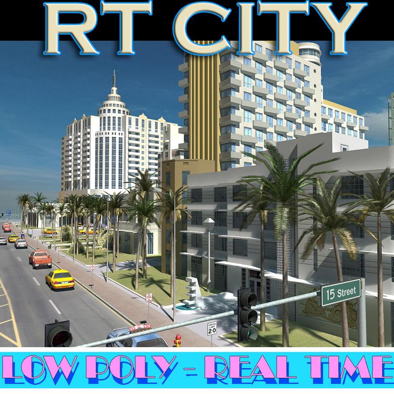 city street miami max