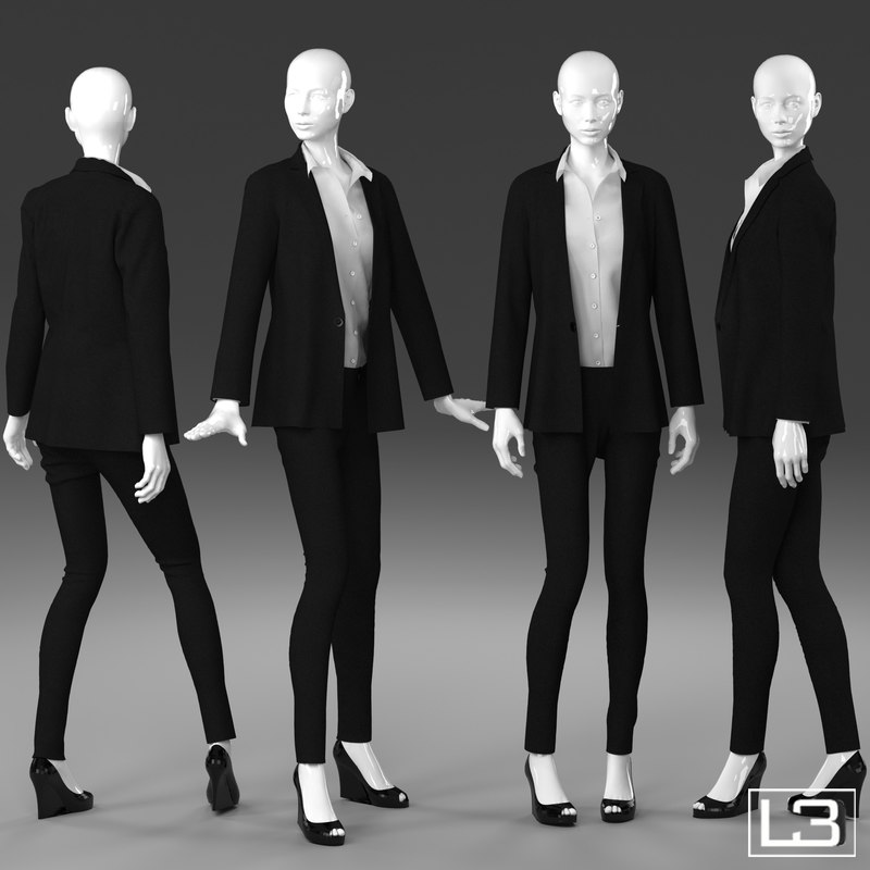 max woman mannequin