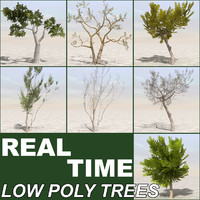 3d tree terrain plant