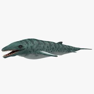 basilosaurus 3d max