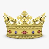 3d realistic crown 4 model