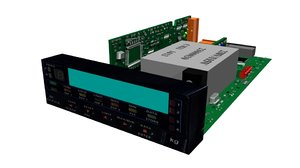electronic digital indicator 3d model