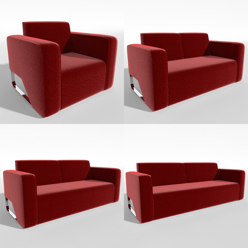 sofa mira chair 3ds