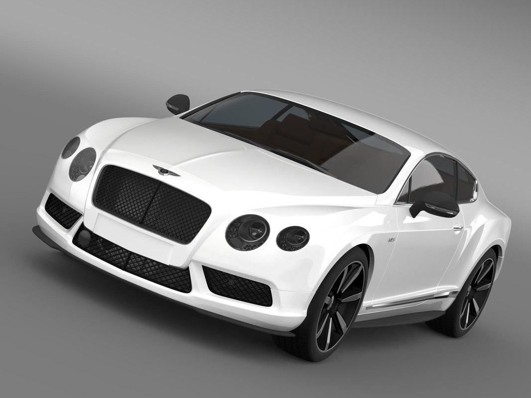 bentley continental gt 3d 3ds