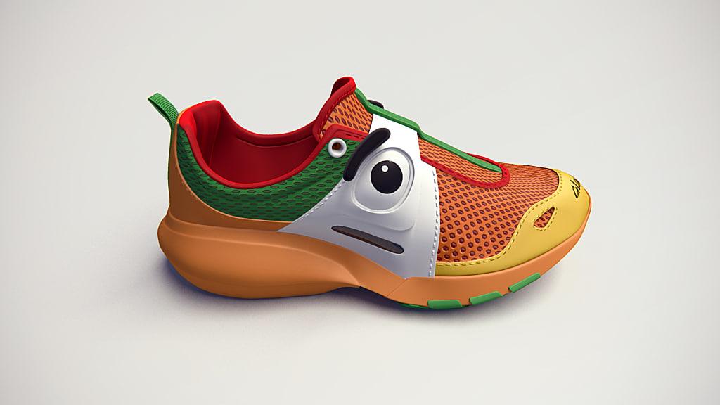 sport shoe glagla 3d model