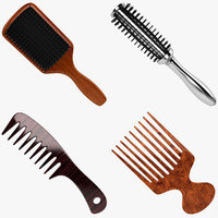 hair brush dxf