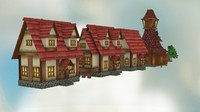 pack fantasy houses max