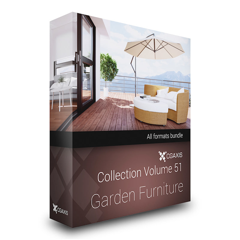 furniture garden 3d max