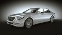 3d 2015 s class model