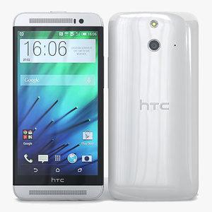 max htc e8 white
