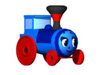 train 3d fbx