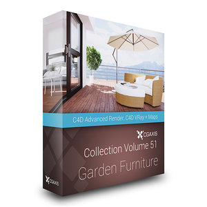furniture garden c4d