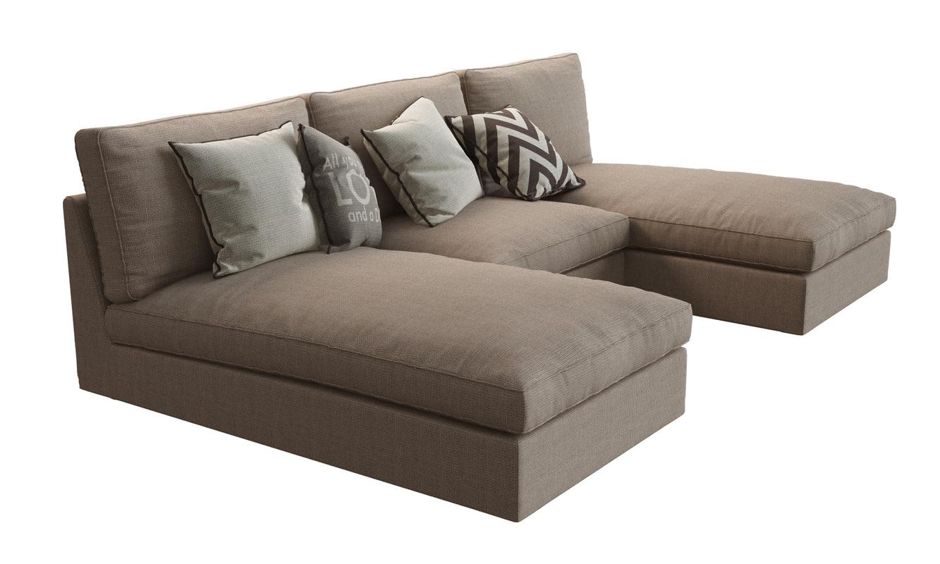 Chaise Ikea And Armchair Kivik2 Lounges 8wONn0vm