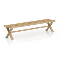 Simple Wooden Bench