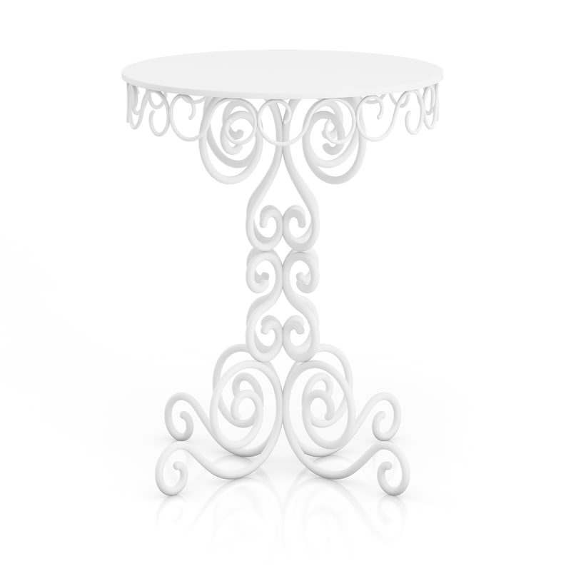 classical small white 3d model