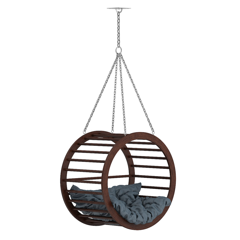 max large wooden swing