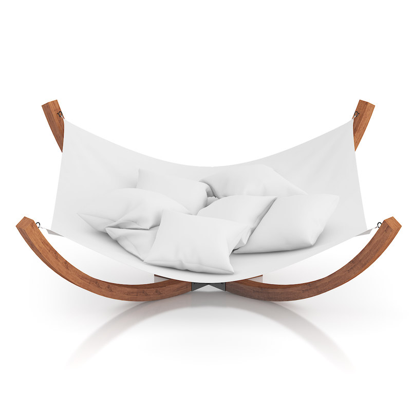 large hammock 3d model