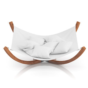 large hammock 3d model
