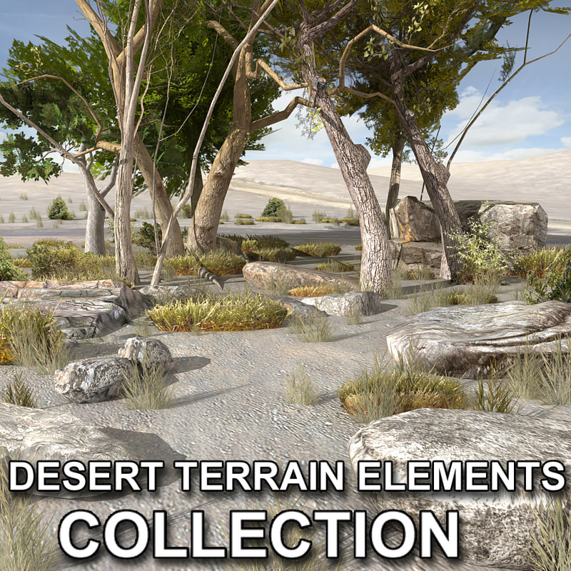 max tree plants desert terrain