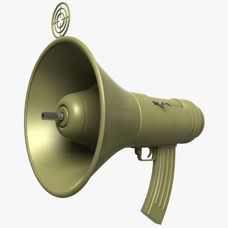 weapon democracy 3d fbx
