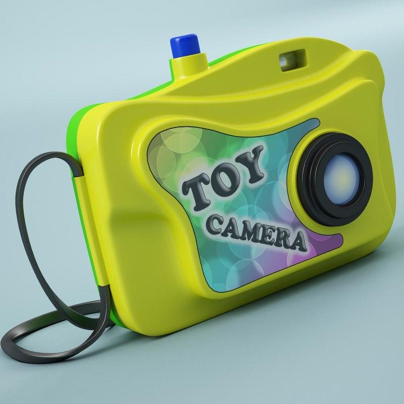 3d model toy camera cam