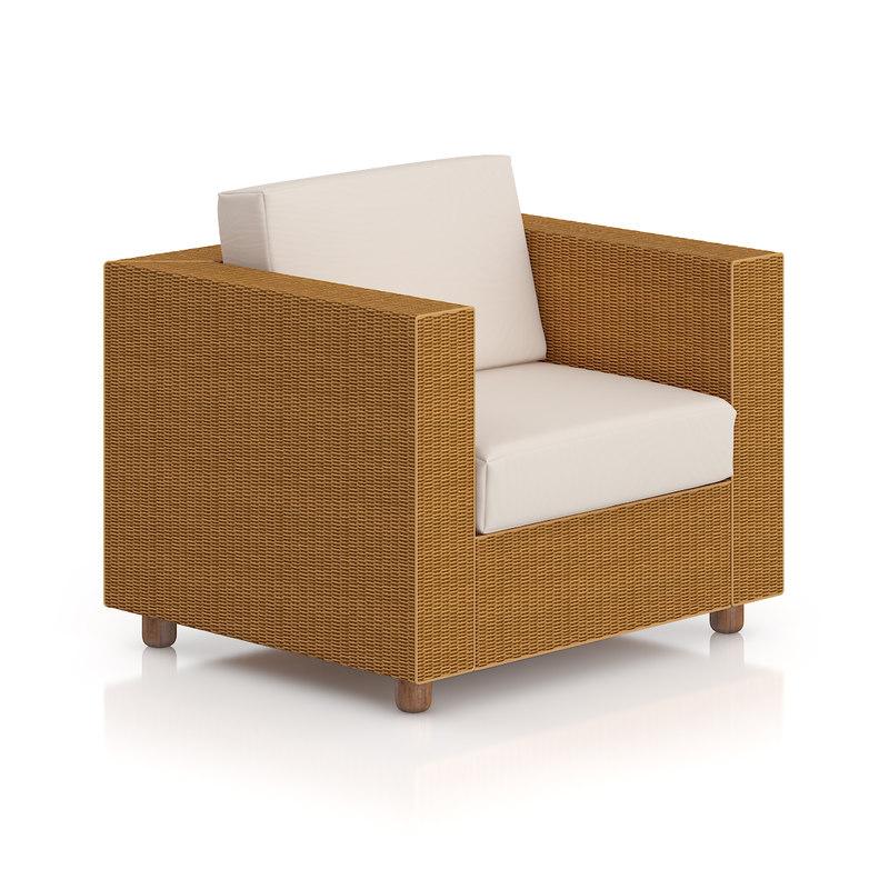 wicker armchair max